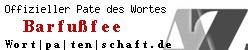 Offizieller Pate des Wortes Barfußfee